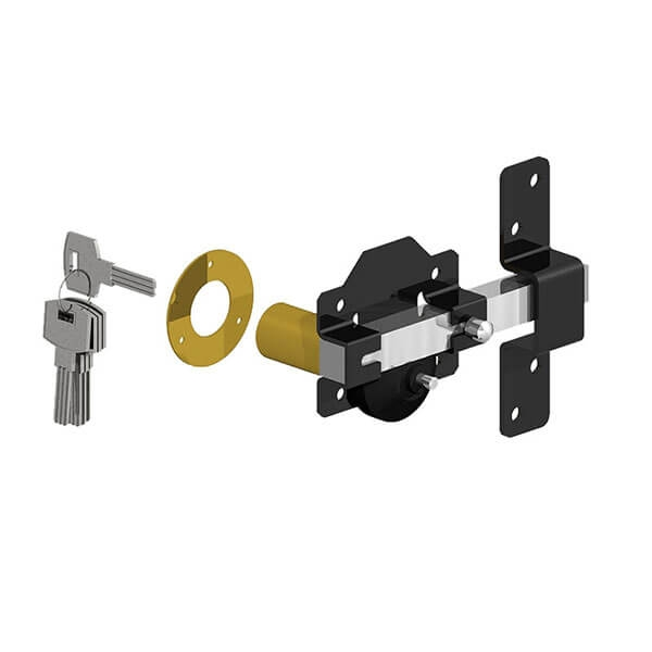 GATEMATE® Premium Long Throw Lock - Single Locking - 2 3/4