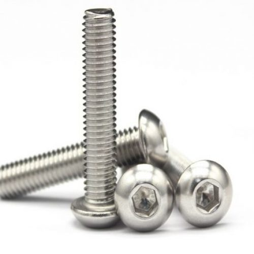 Socket Button Machine Screw A4 Marine Grade
